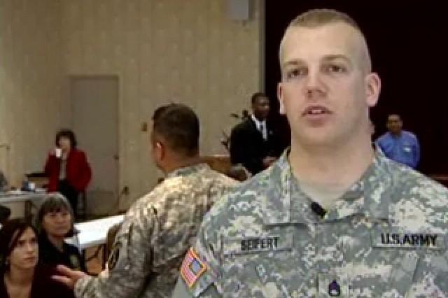 Staff Sgt. Jason Seifert, Student