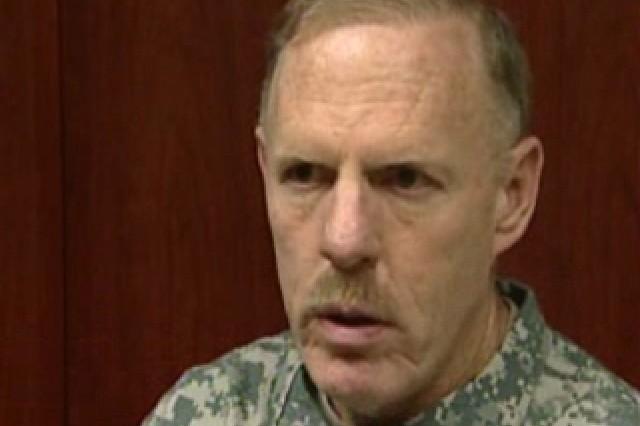 Lt. Gen. Stephen Speakes, Deputy Chief of Staff, G8