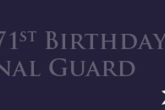 National Guard 371st Birthday Banner