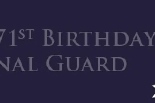 National Guard 371st Birthday Banner