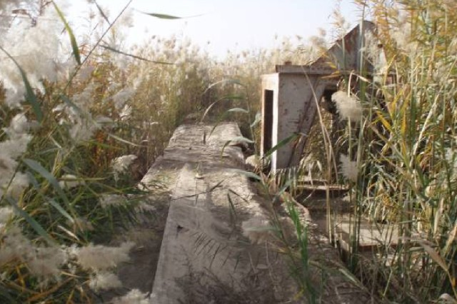 Al Qaeda Tunnel Destroyed