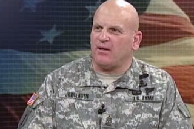 Command Sgt. Maj. Brent Jurgersen