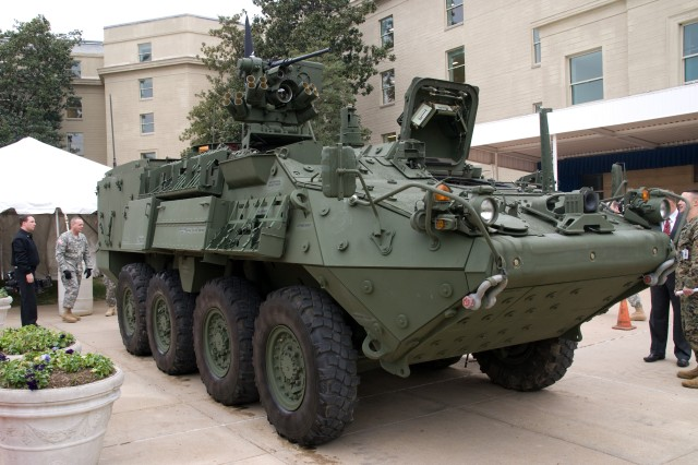 Army Authorized to Purchase Additional Stryker NBCRVs
