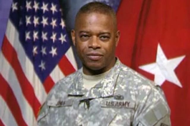 Brig. Gen. Rueben Jones, Army Senior Voting Officer