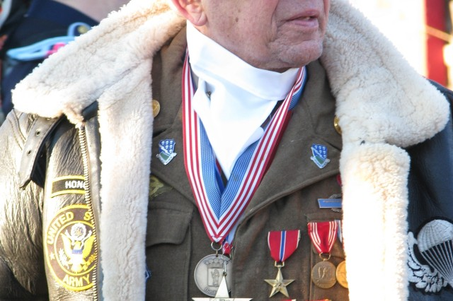 """Carl Dalke, who served with the 506th Parachute Infantry Regiment during the Battle of the Bulge, called the first days of the campaign """"gut wrenching."""""""