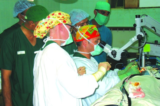Army Surgeons Help Operate on Bangladeshi Patients