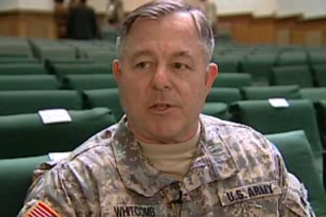 Lt. Gen. Steven Whitcomb, CG, Army Central Command