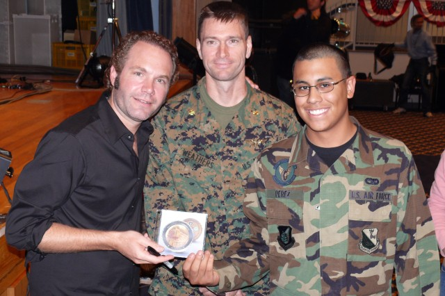 Pop Artist Sends 'Gift of Music' to Troops