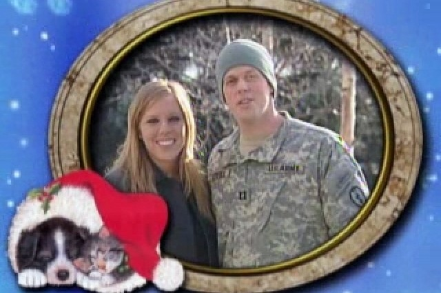 Soldiers and Their Families Wish Holiday Greetings