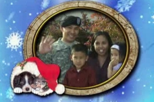 Holiday Greetings From Soldiers and Their Families