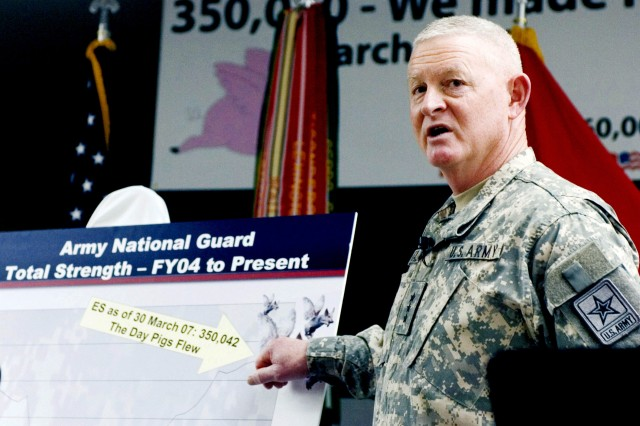 Army National Guard Director Reviews 2007, Looks Ahead