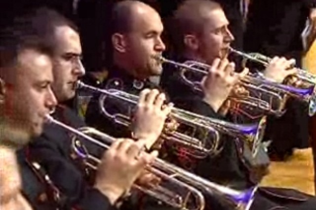 The Army Field Band performing Mannheim Steamroller
