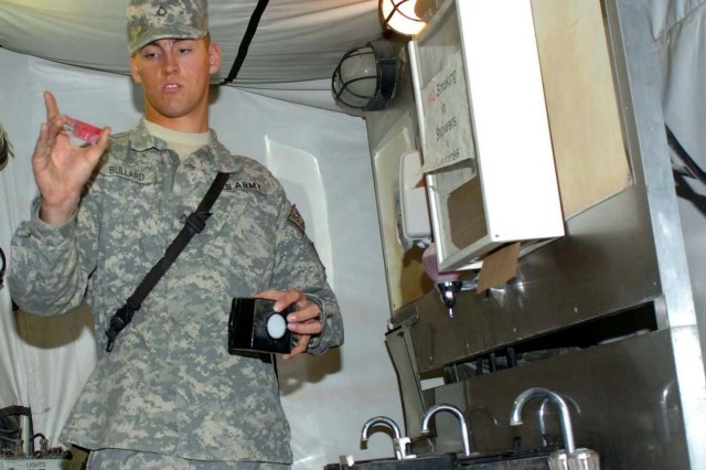 U.S. Army Europe Water Purification Team Processes Thousands of Gallons Daily for Afghanistan Airfield