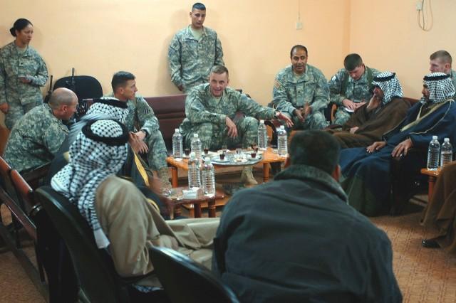 Sheiks Confer on al-Qaida in Iraq