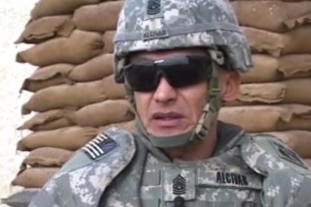 Command Sgt. Maj. Eloy Alcivar