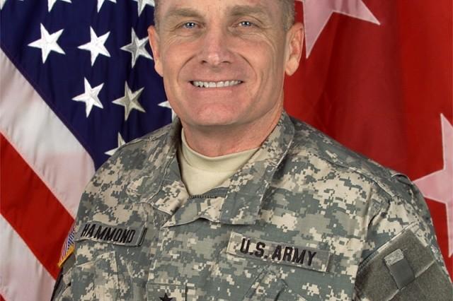 Major General Jeffery W. Hammond, Commander, U.S. Army 4th Infantry Division.