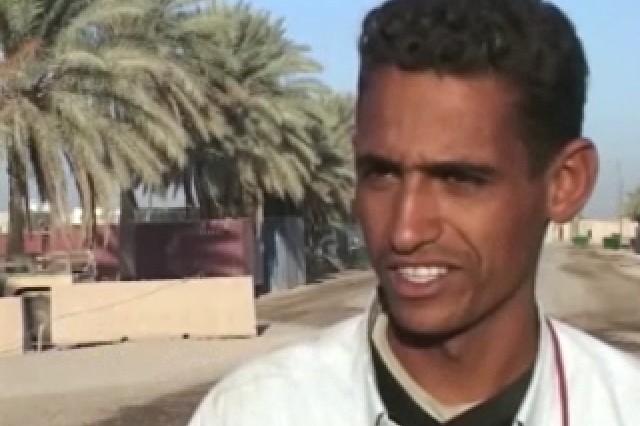 Hayder Muhammad, Iraqi construction worker