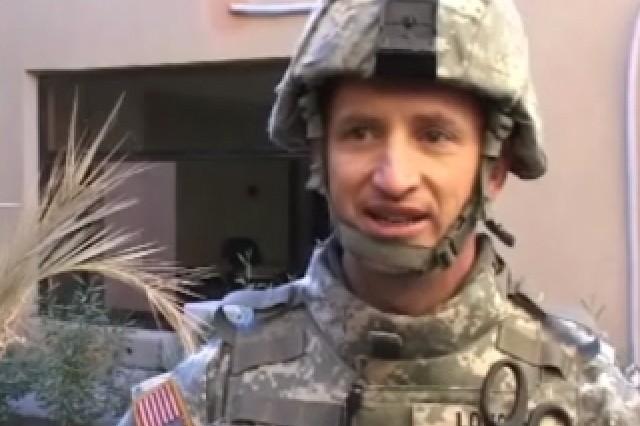 Lt. Col. Doug Lougee, BT Surgeon 2-Cav.