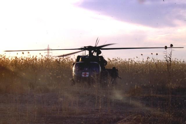 MEDEVAC Crews Brave Enemy Fire to Save Soldiers