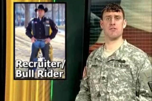 Staff Sgt. David Green, Recruiter / Bull Rider