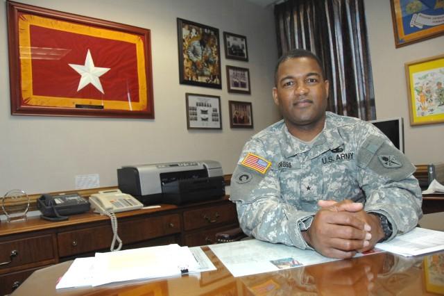 Cross Named 50th Quartermaster General
