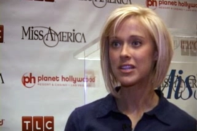 Sgt. Jill Stevens placed in the top 15 at the 2008 Miss America Pagent