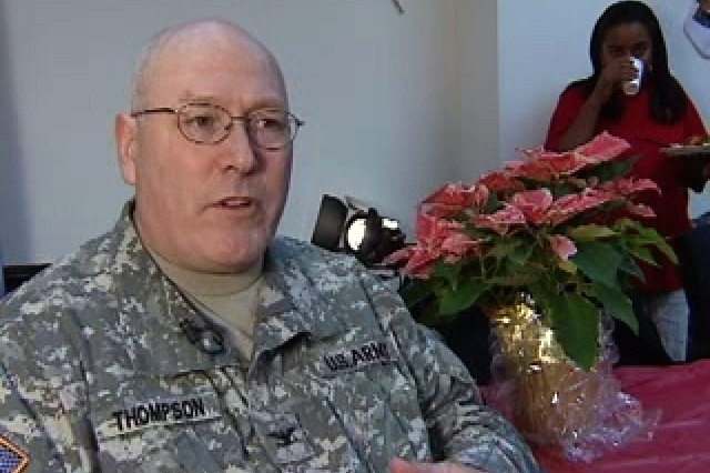 Col. Joseph Thompson, OIC Afghanistan LOGCAP Detatchment