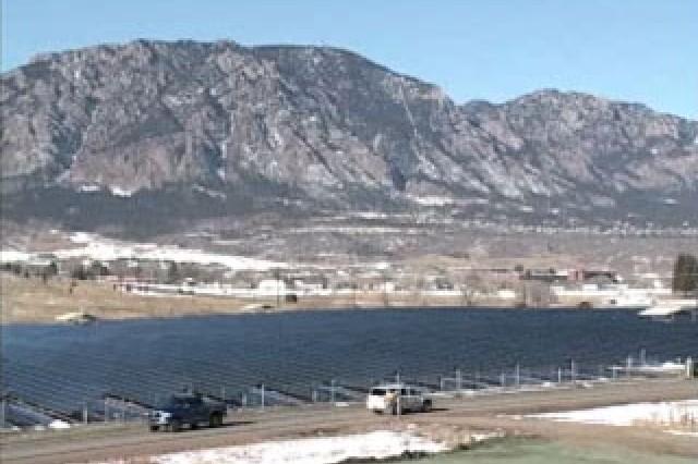 Ft. Carson Solar Arrays