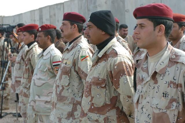 Test class Graduates Iraqi NCO Academy