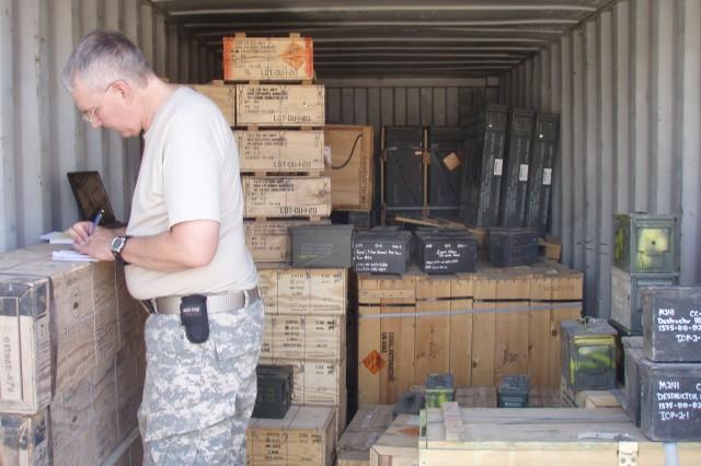 Bill Wild writes findings of ammunition assessment at Ammunition Transfer Holding Platforms in Taiji.