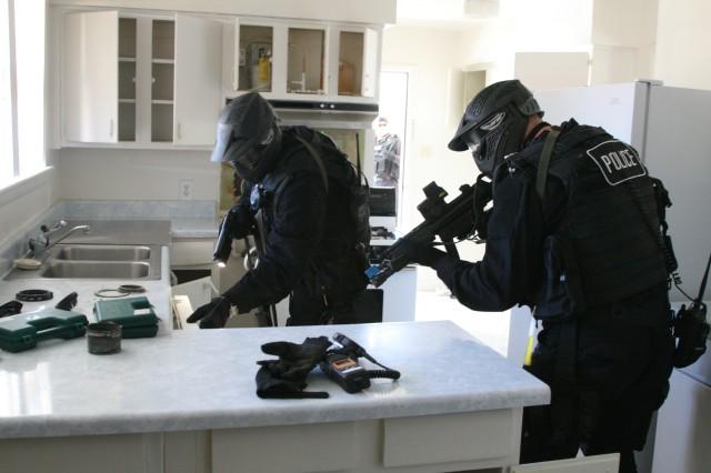 Special Reaction Team foils hostile assault