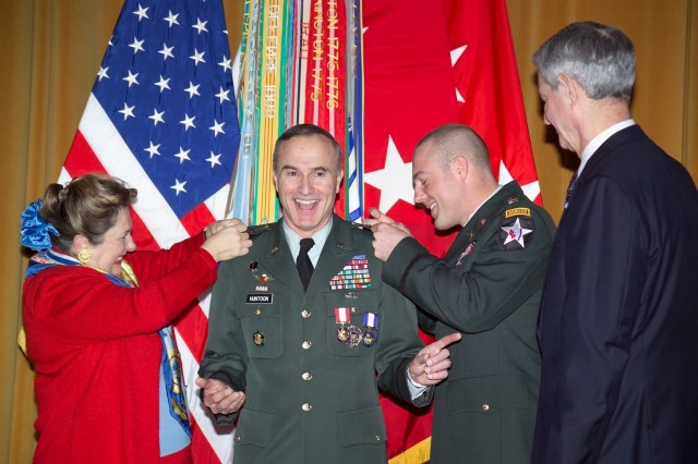 Lt. Gen. Huntoon Promotion