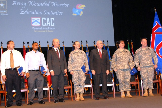 Army Partners with Kansas University for Wounded Warrior Education Initiative