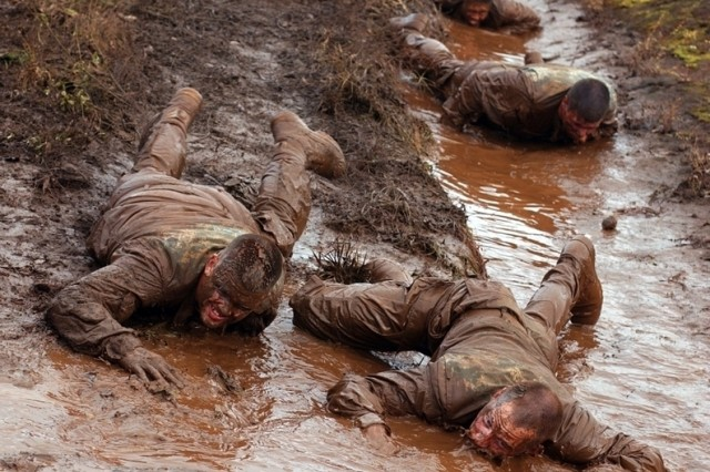 The future can sometimes be as clear as mud. Field Manual 3-0 offers a blueprint for an uncertain future - coming Feb. 28. Pictured here are Soldiers from 2nd Brigade, 25th Infantry Division training for combat at Schofield Barracks, Hawaii Feb. 4.