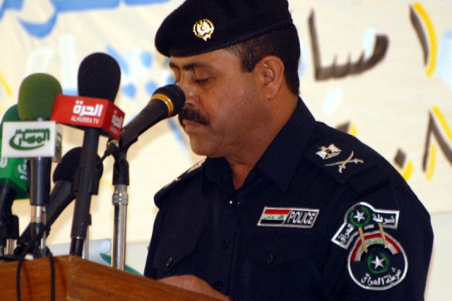 18th Military Police Brigade helps create new permanent training center for Iraqi Police