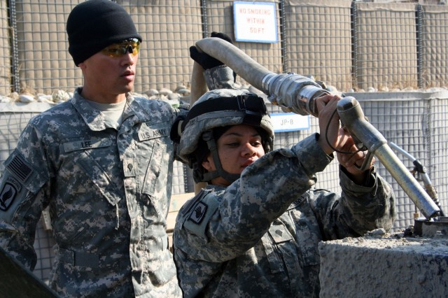 Soldiers of 173rd Airborne Brigade fuel point team keeping Afghanistan task force on the move