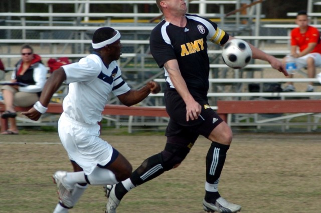 All-Army Men's Soccer Team Wins Silver Medal