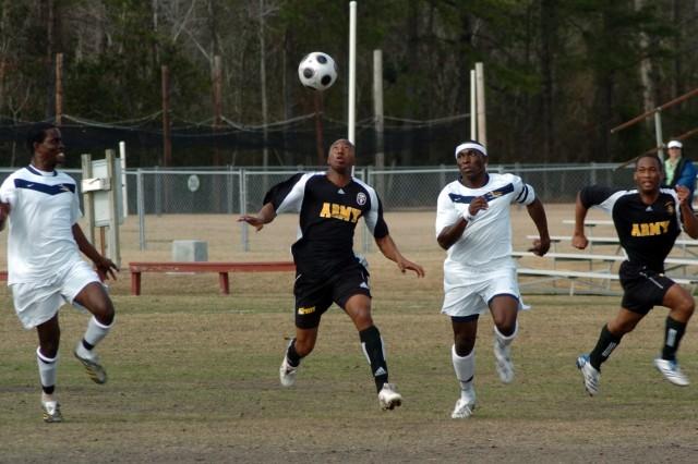 All-Army Men's Soccer Team Wins Silver Medal