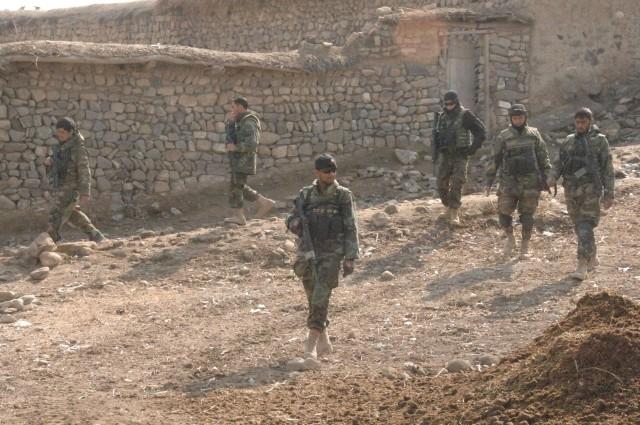 Commandos Search Village