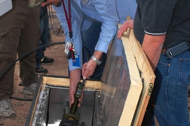 Preparing to Test Excalibur Munition