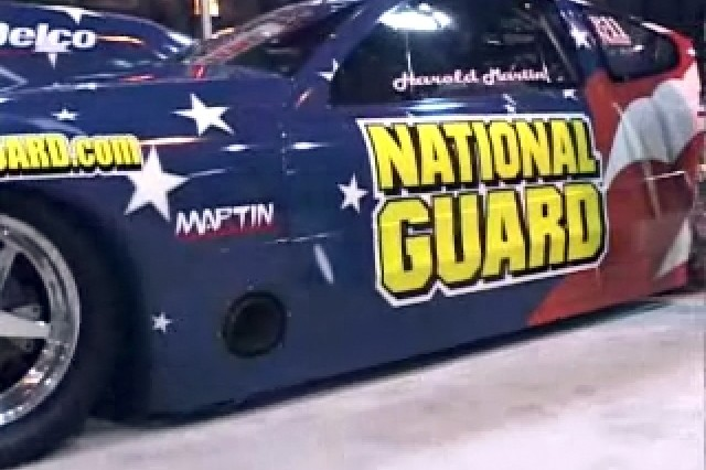 National Guard Drag Racing