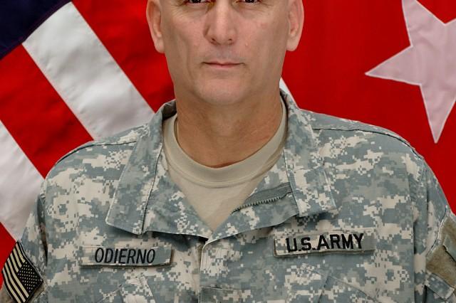 Lt. Gen Raymond Odierno, Commander, U.S. Army III Corps.