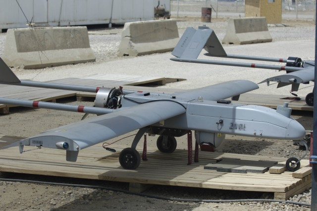 To ensure interoperability, the Apache PM has teamed with the UAS project manager and developed this capability using the One System Remote Video Terminal. With the OSRVT as the baseline interface, VUIT-2 is able to receive video from nearly all unmanned aircraft systems operating in Iraq and Afghanistan, including the Shadow UAS.