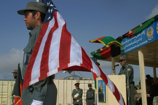 Afghan National Police Graduate FDD