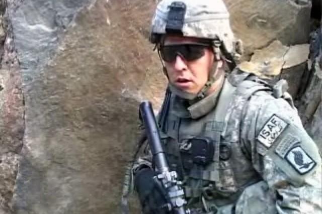 2nd Lt. Michael Cummings, Platoon Leader