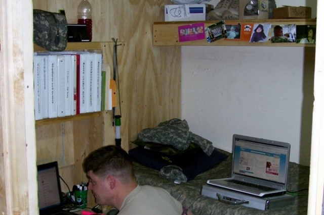 Engineers upgrade living quarters for Military Police