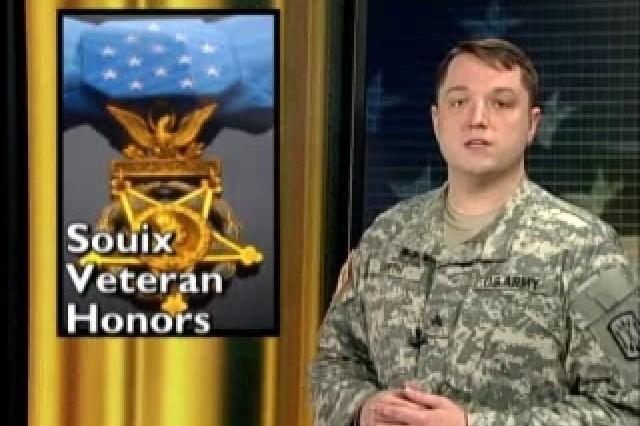 Sioux Veteran Honored