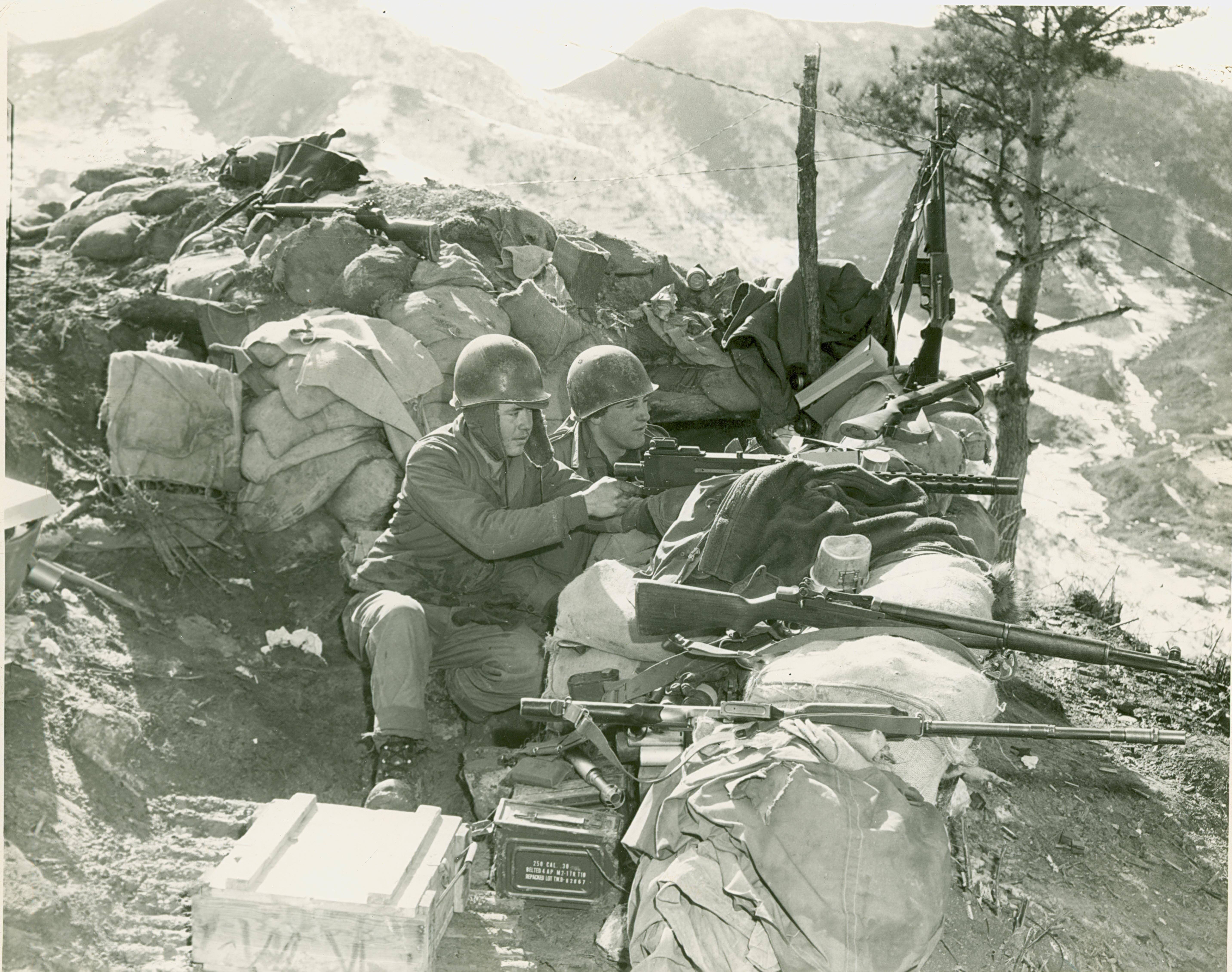 Korean war slideshow article the united states army for Bureau 38 north korea