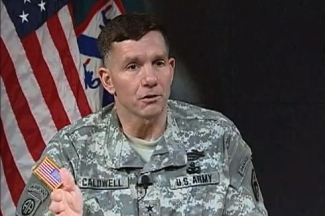 Lt. Gen. William B. Caldwell