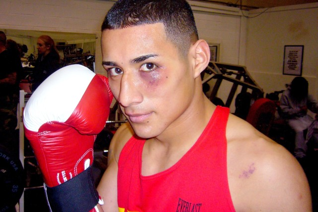 Combat medic fights his way to All-Army Boxing Championship